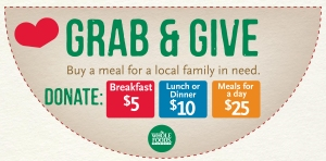 Whole Foods Grab & Give